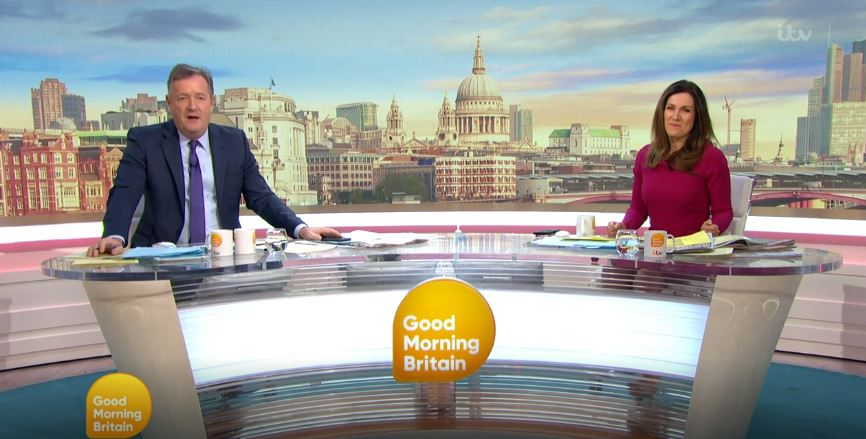 Piers Morgan defends 'uncomfortable' interview with care minister on GMB