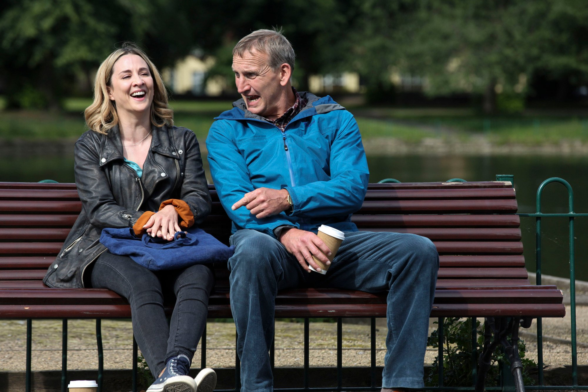 Morven Christie and Christopher Ecclestone in The A Word (Credit: BBC One)