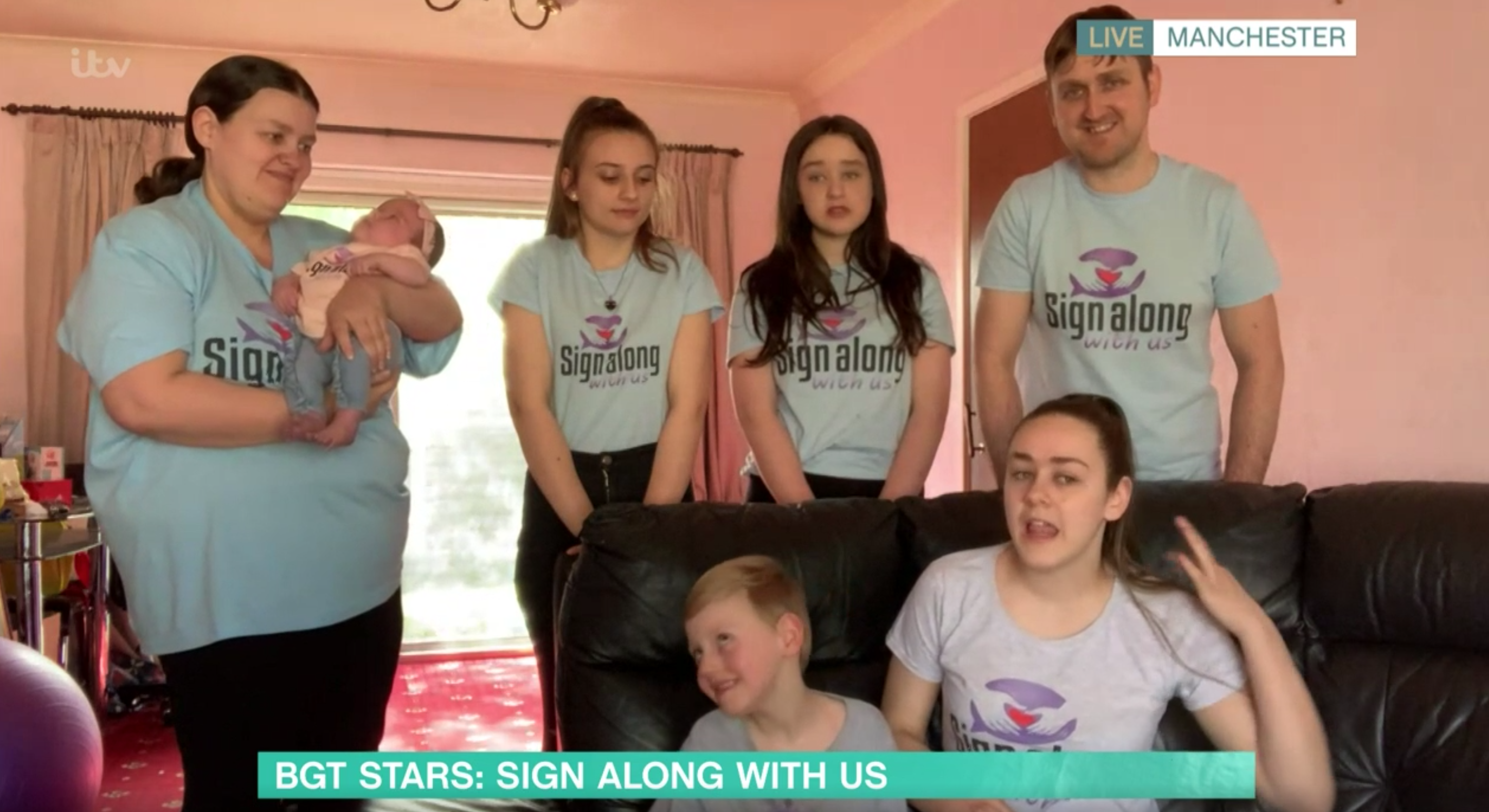 Britain's Got Talent stars Sign Along With Us leave This Morning fans in tears again