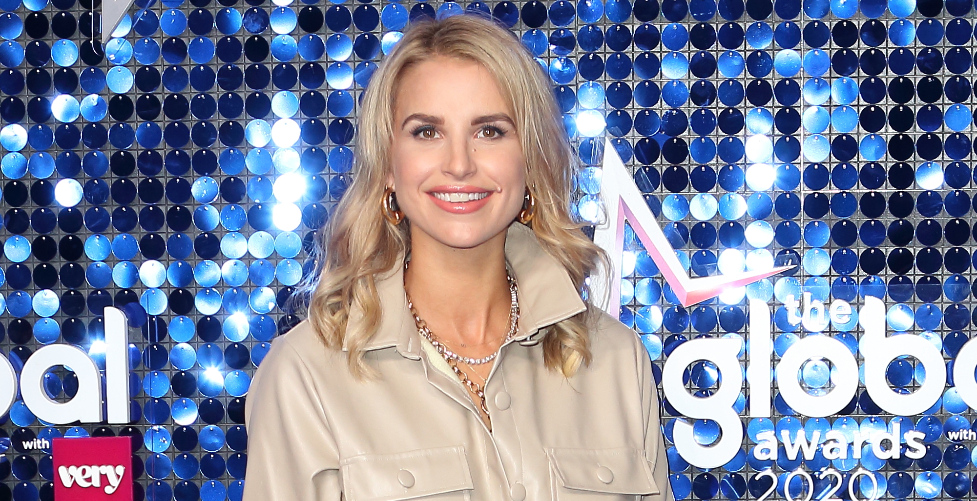 Pregnant Vogue Williams reveals it's 'not easy' to embrace her changing shape