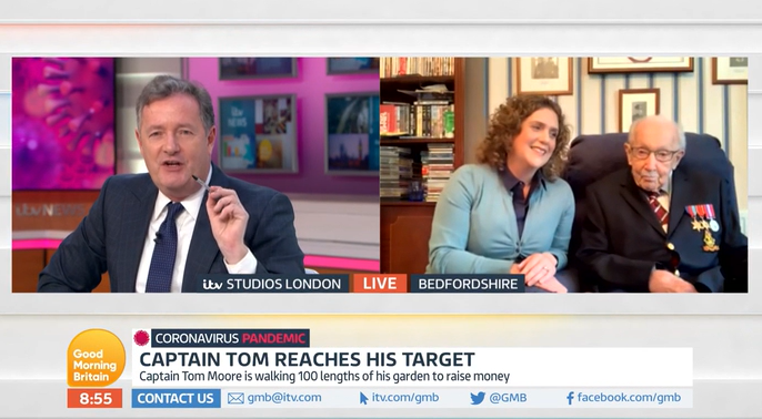 Piers blasts MP for laughing over 4,000 care home deaths