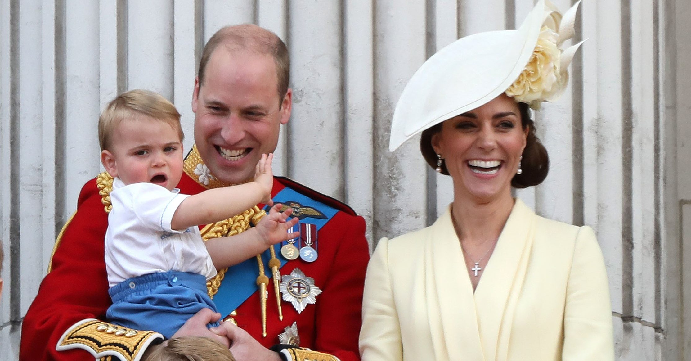 William and Kate share new pictures of Prince Louis for his second birthday