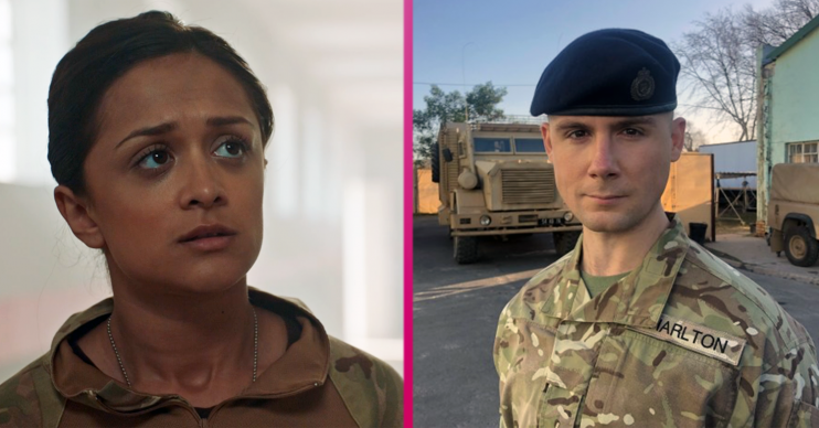 Who is Cheese in Our Girl (Credit: BBC)