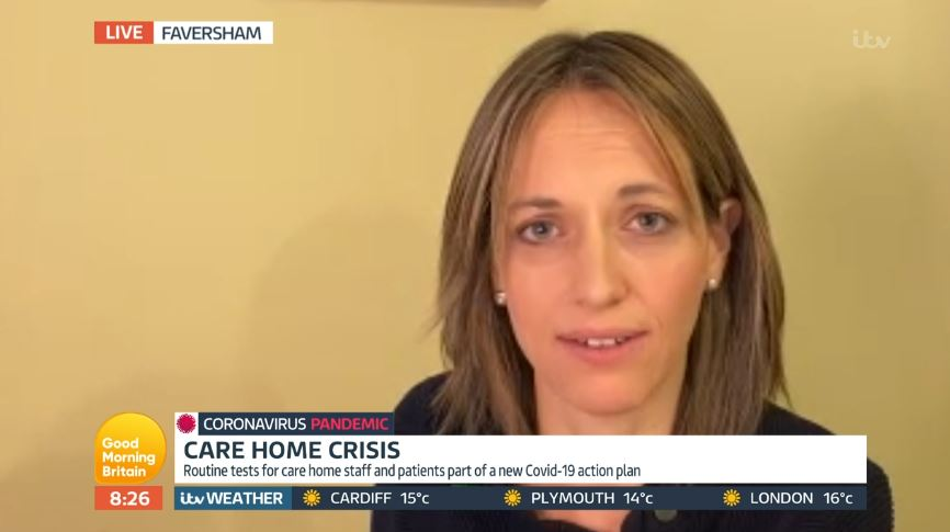 Helen Whately on GMB