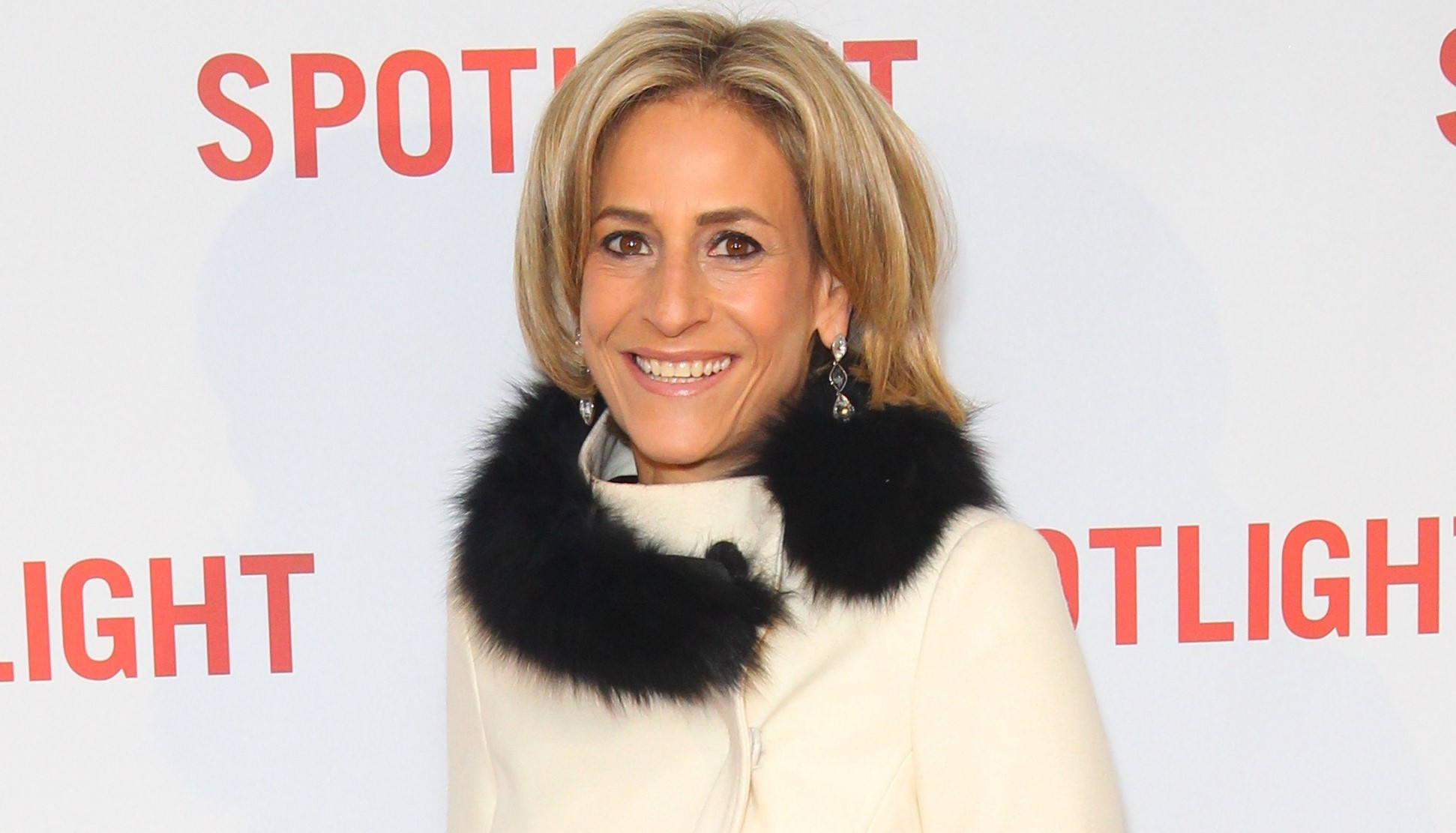 Emily Maitlis' husband stops talking to her after haircut failure
