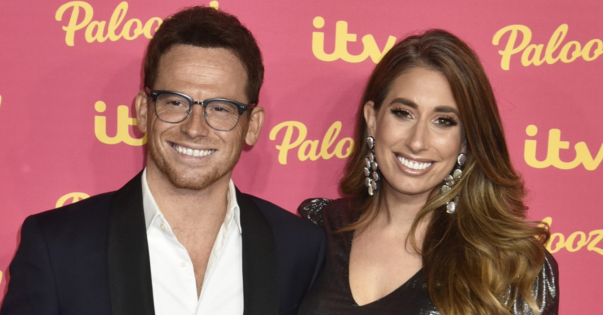 Stacey Solomon has the 'best day of her life' as she puts full make-up on boyfriend Joe Swash