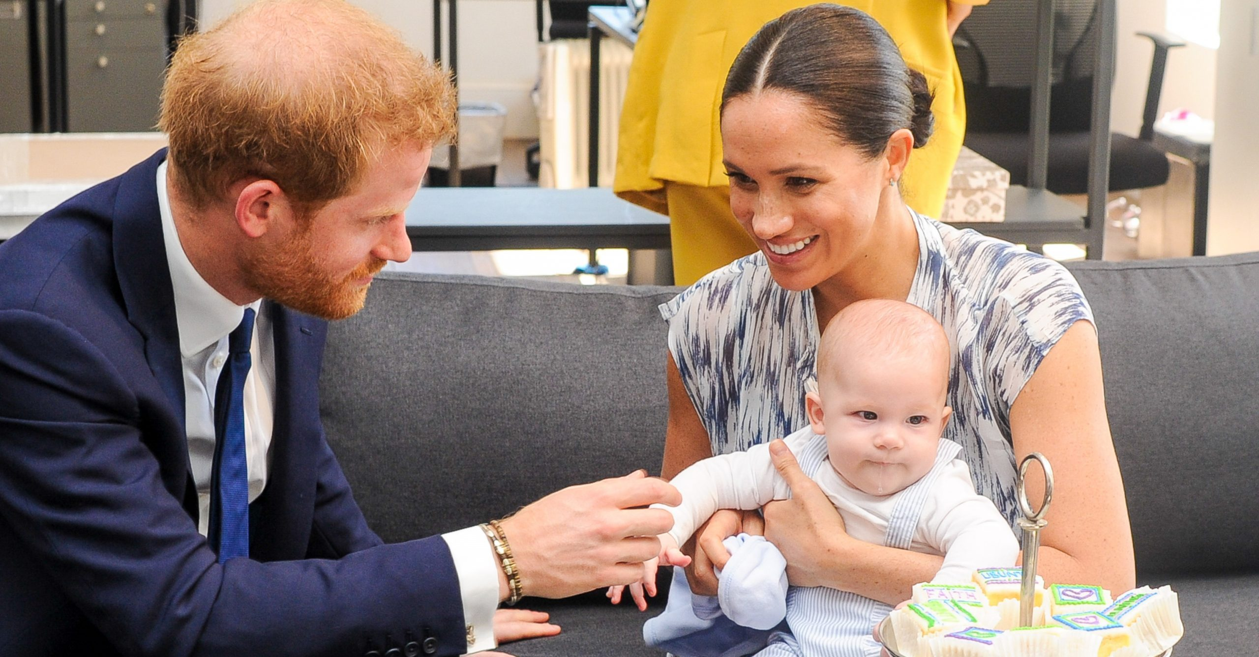 Prince Harry reveals glimpse into lockdown with Meghan and son Archie in video call