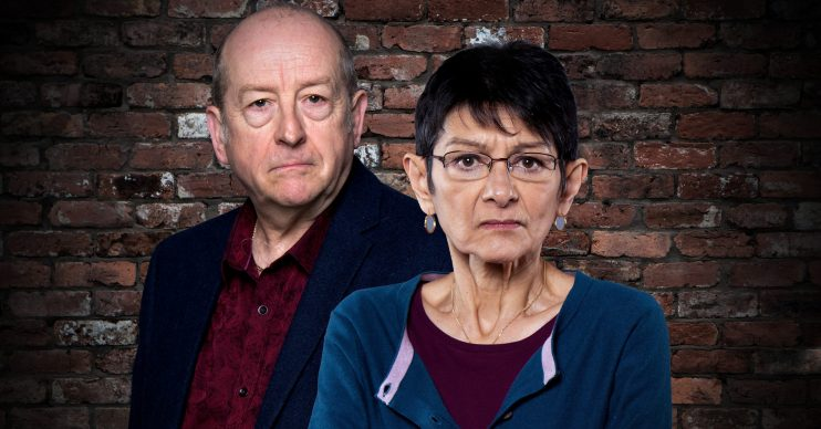 Coronation Street's Yasmeen and Geoff
