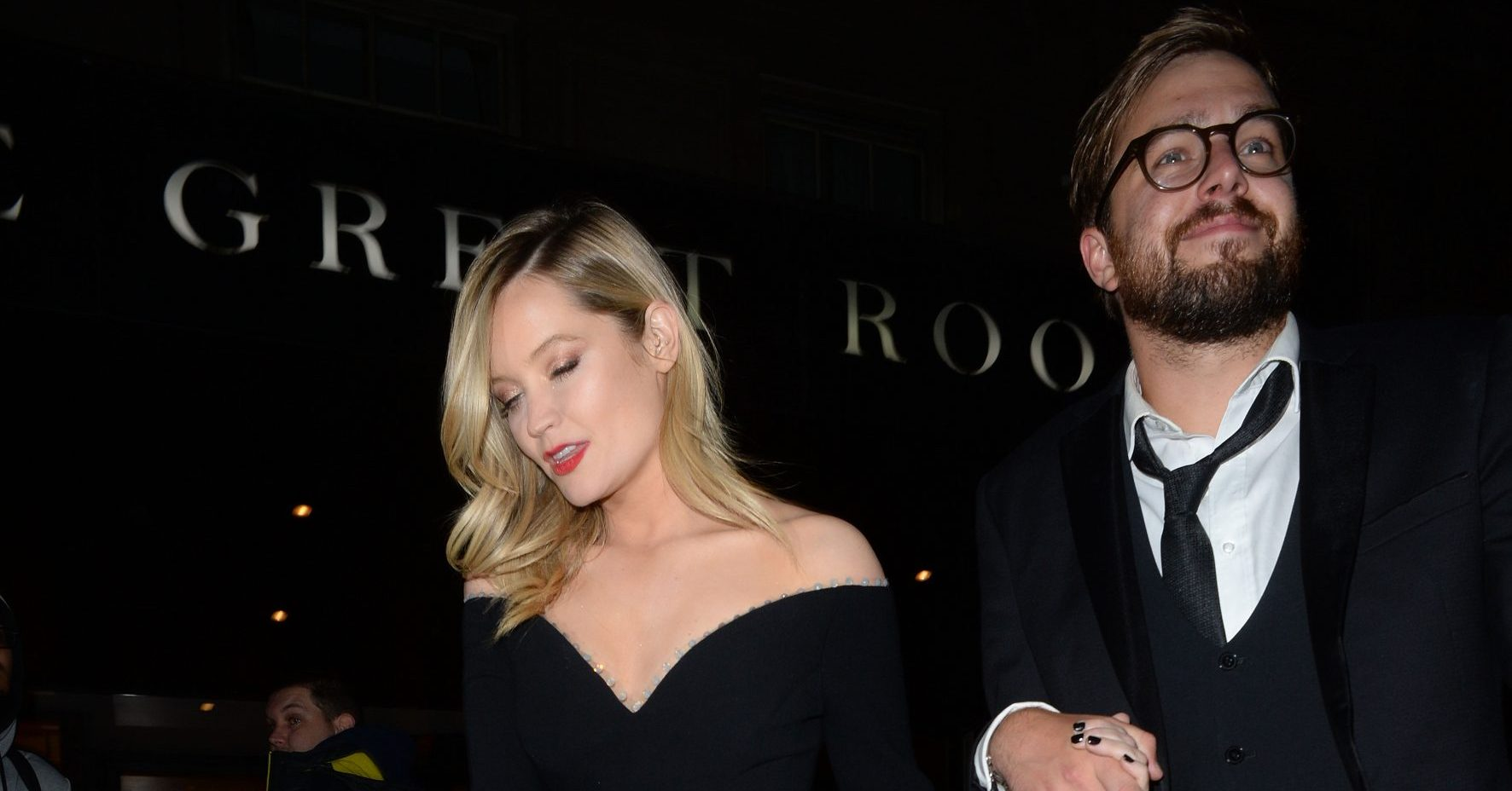 Love Island host Laura Whitmore sparks rumours she is engaged to beau Iain Stirling