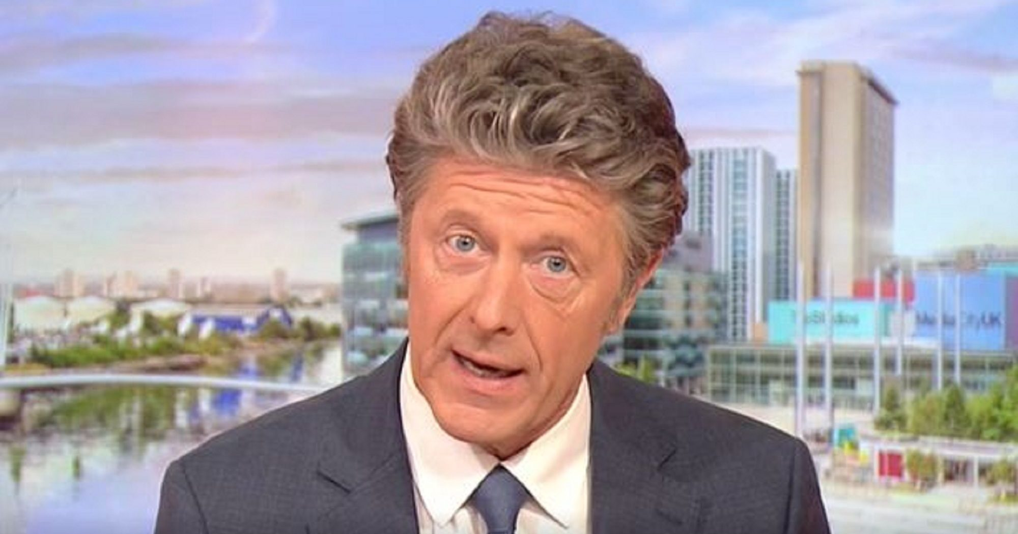 BBC Breakfast viewers spot embarrassing blunder as Charlie Stayt talks about WWII veteran Tom Moore