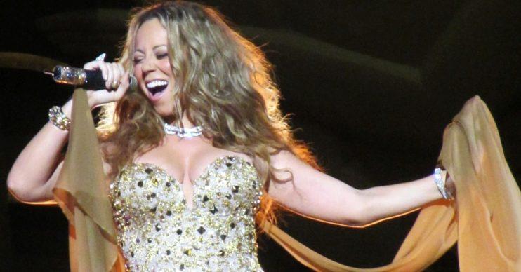 NHS performs Mariah Carey song