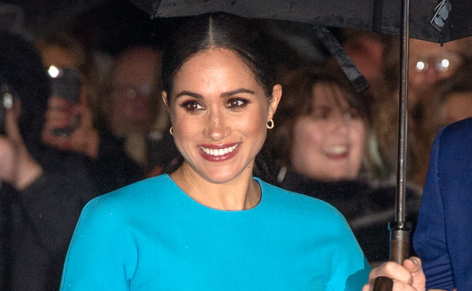 Meghan returns to spotlight to speak with charity on video call from LA