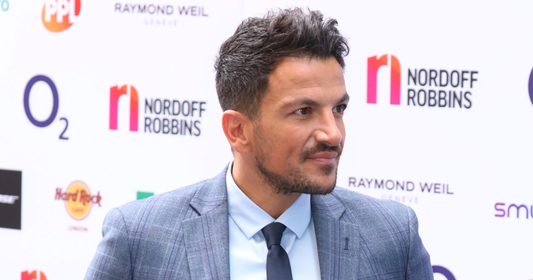 Peter Andre letting himself go grey as he admits he's struggling in lockdown