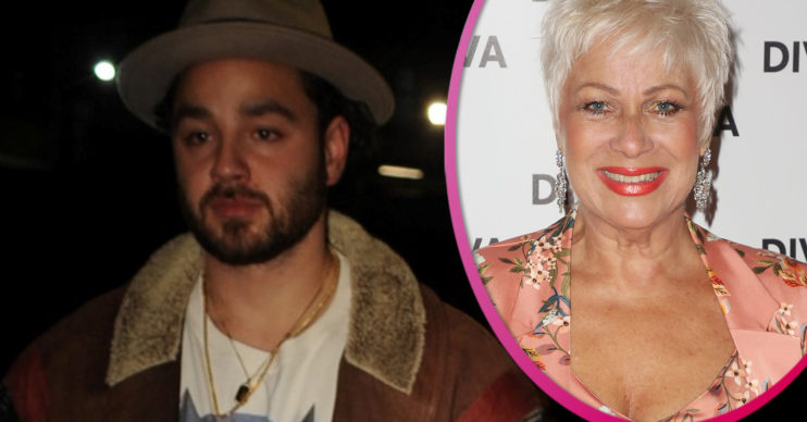 Adam Thomas and Denise Welch