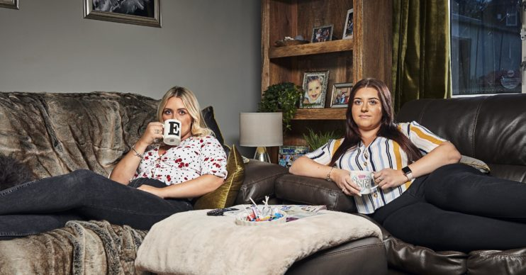 Izzi Warner on Gogglebox