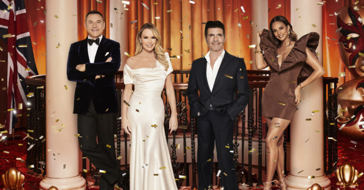 BGT judges David Walliams, Amanda Holden, Simon Cowell and Alesha Dixon