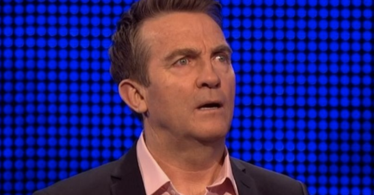 the chase host bradley walsh is shocked at right answer