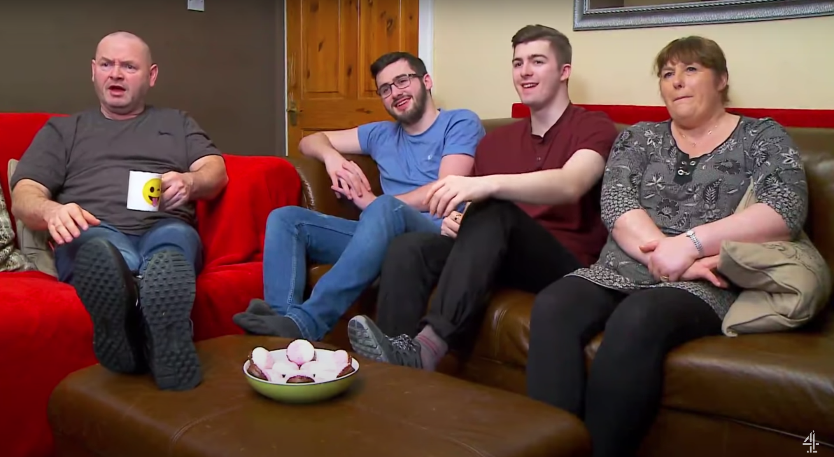 Gogglebox fans feel 'uneasy' with the Malones' 'unhygienic' habit
