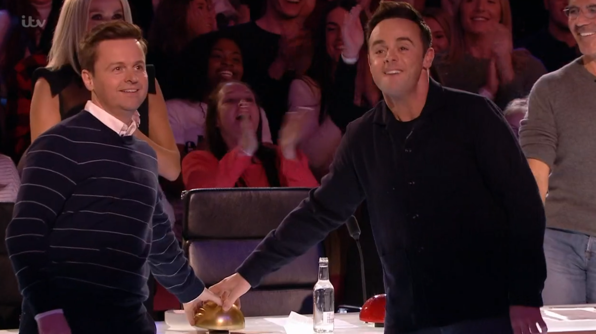 Britain's Got Talent viewers divided over Ant and Dec's Golden Buzzer act