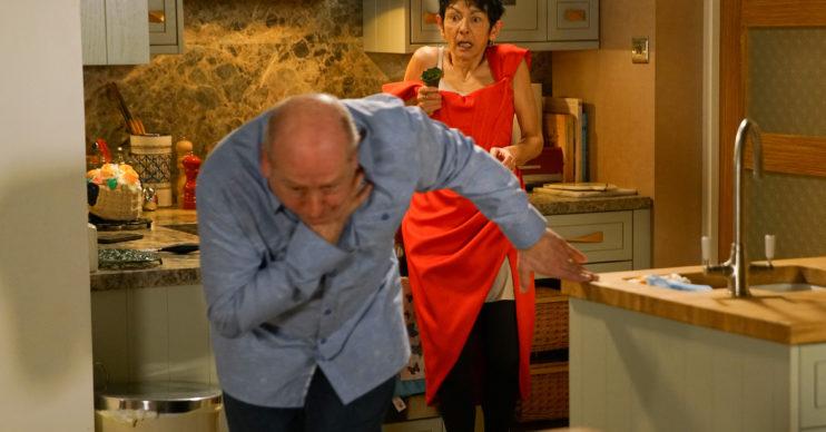 Coronation Street Yasmeen kills Geoff?