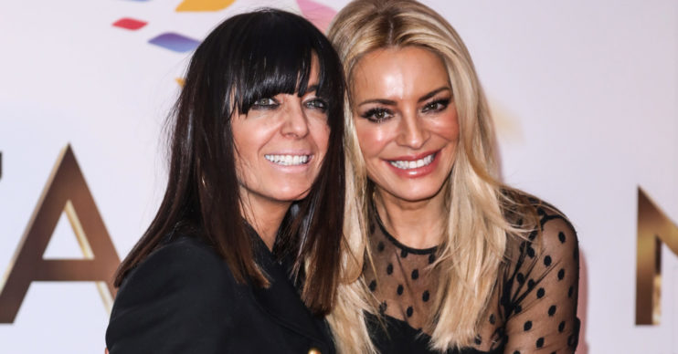 Claudia Winkleman and Tess Daly at the National Television Awards