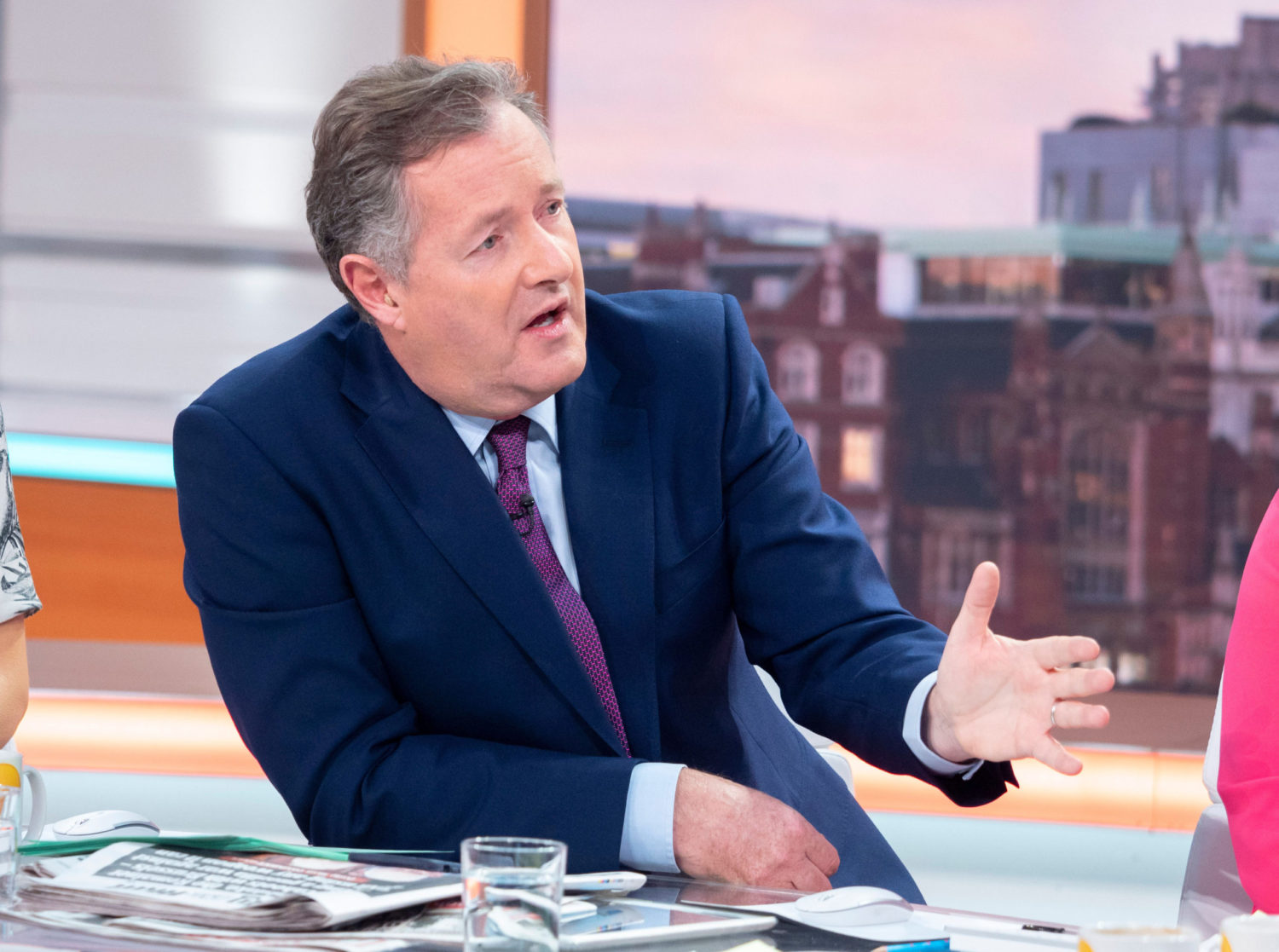 Piers Morgan slams Prince Harry and Meghan Markle for announcing 'zero policy engagement' with newspapers