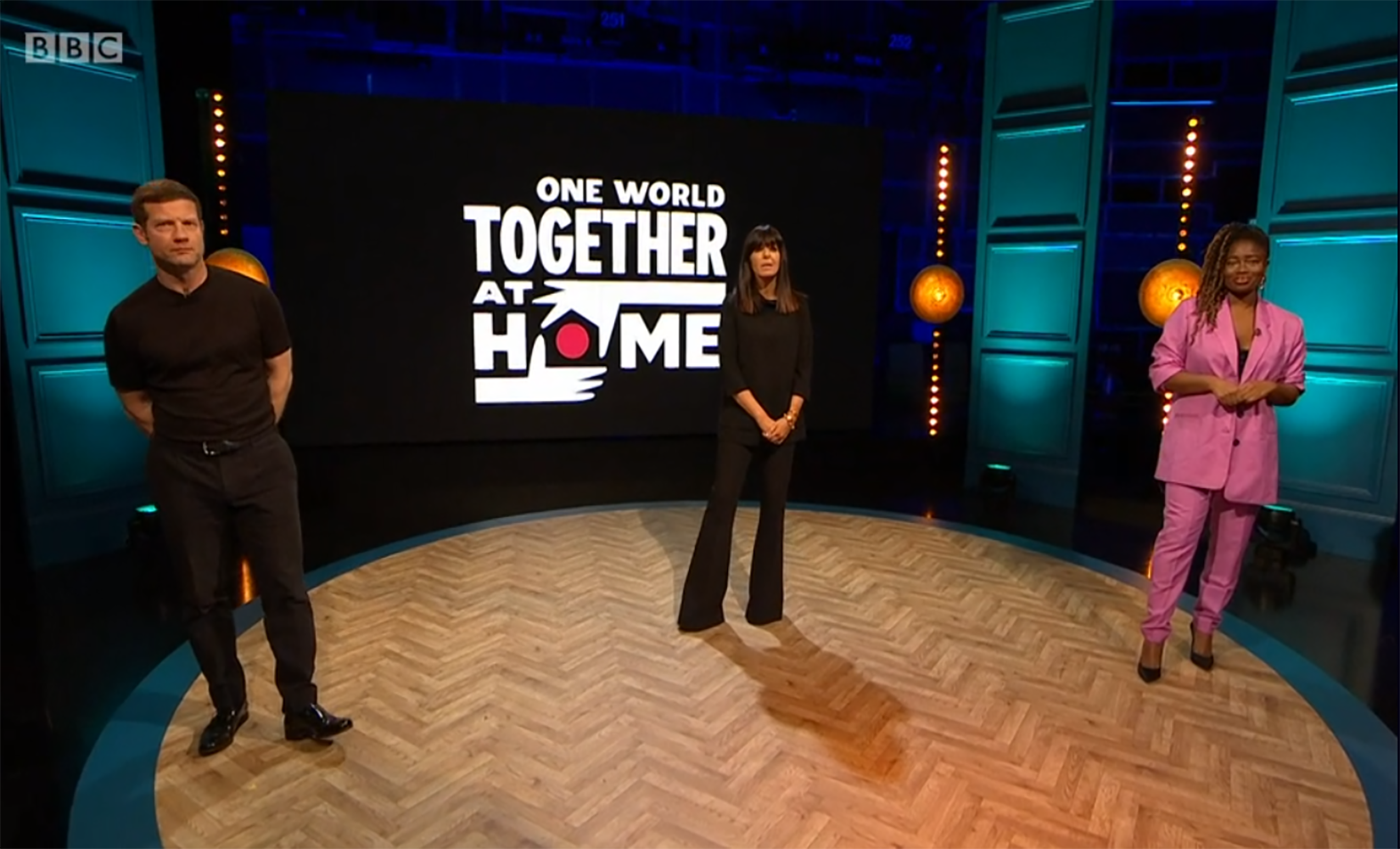 BBC responds to criticism over presenters being in studio to host One World: Together At Home concert