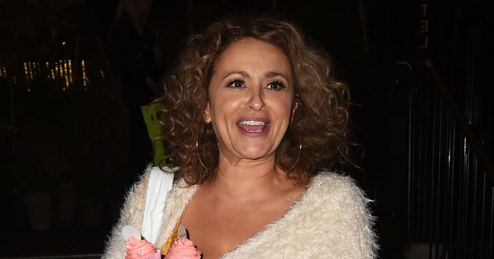 Nadia Sawalha dares fans to copy her X-rated social media challenge she poses completely naked