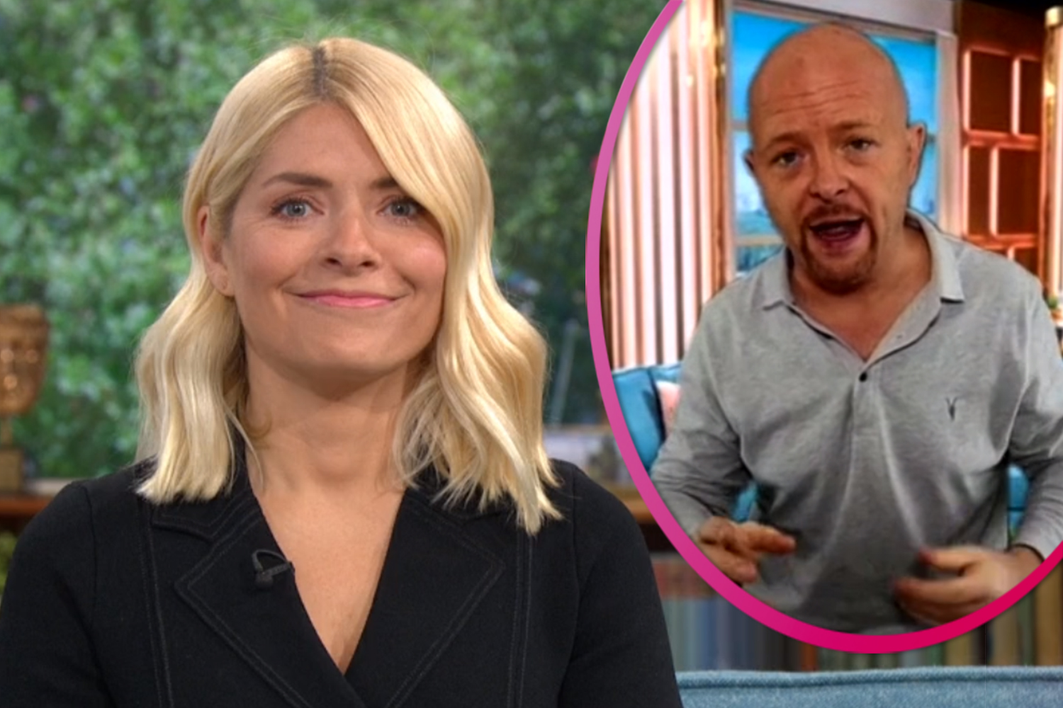 Holly Willoughby giggles as BGT Golden Buzzer act writes song about her 'smell'