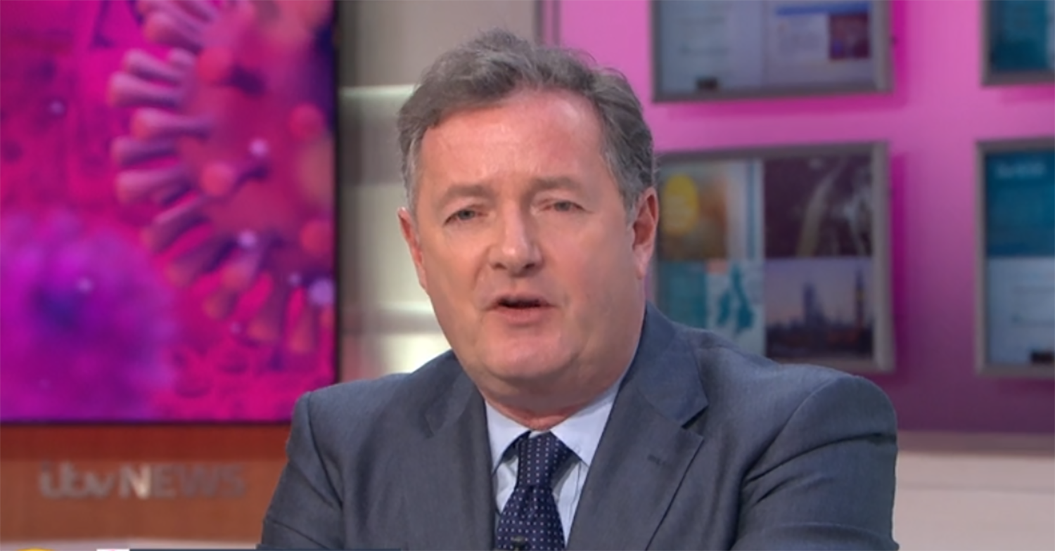 Piers Morgan bans 'whiny little brats' Meghan and Harry from GMB in astonishing rant