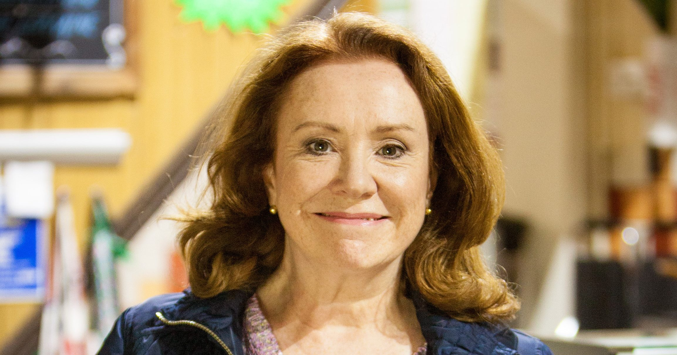 Melanie Hill appears to take a swipe at her Coronation Street storylines