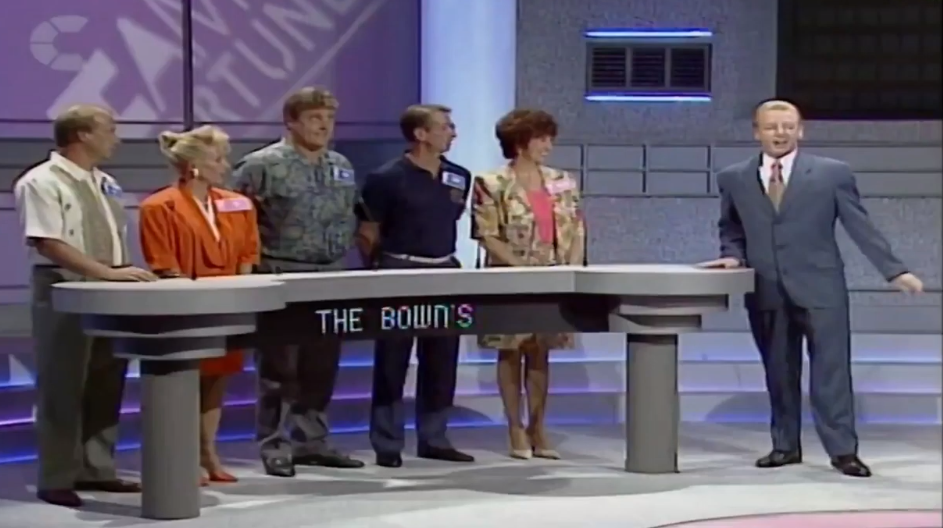 Les Dennis on Family Fortunes