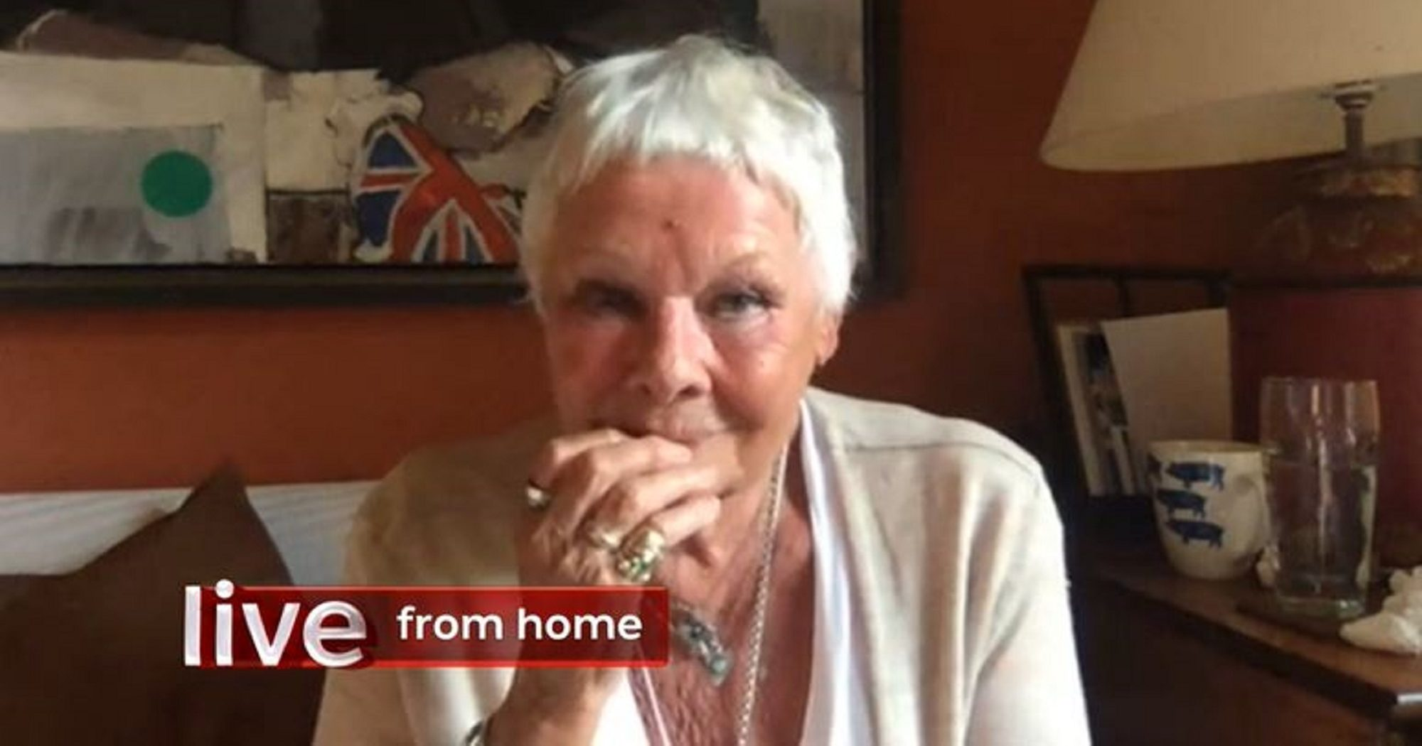 The One Show viewers in hysterics as Dame Judi Dench describes accidentally flashing pal on Skype
