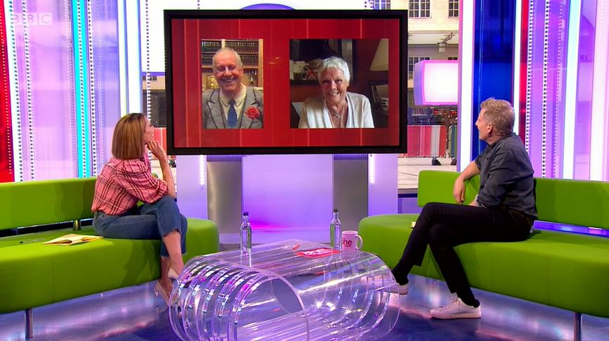 Dame Judi Dench on The One Show