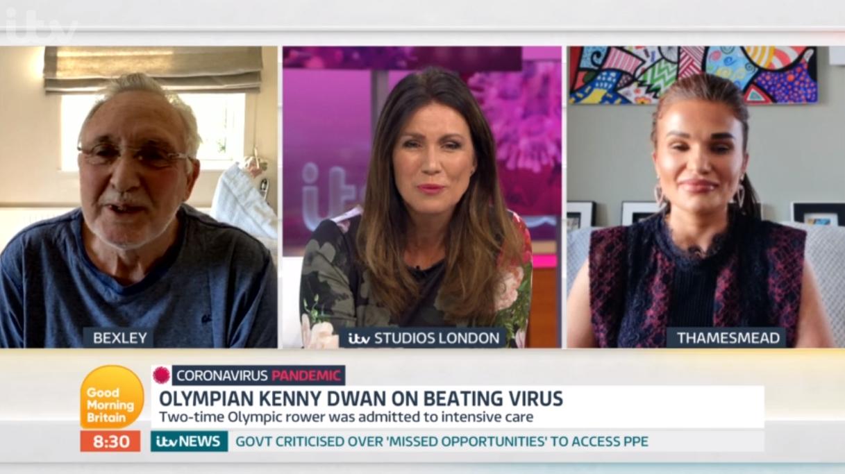 Susanna Reid fights back tears as Olympic rower gets emotional over surviving coronavirus