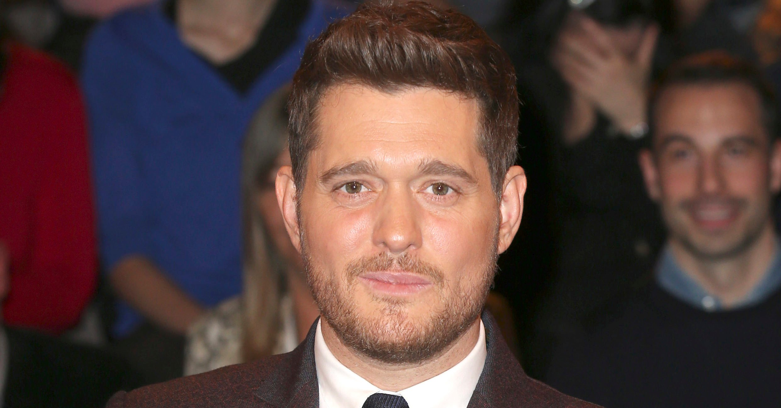 Michael Buble gives fans a rare glimpse of daughter Vida as the pair sing together in lockdown video