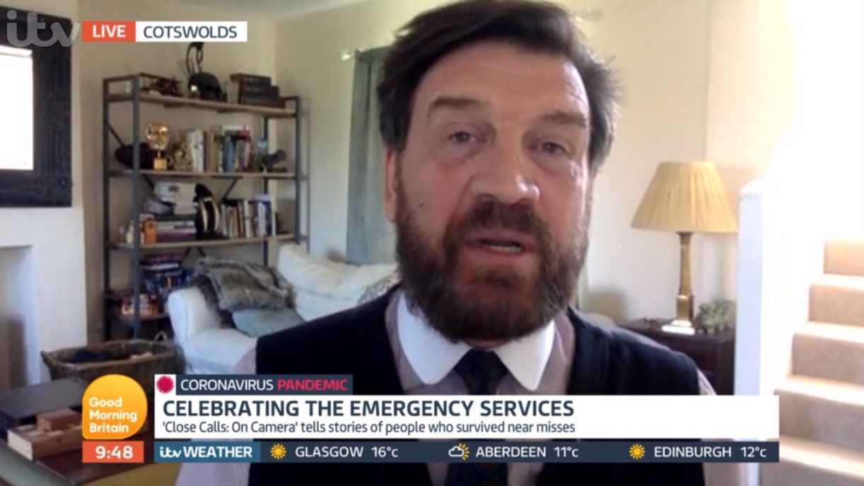 Nick Knowles on GMB