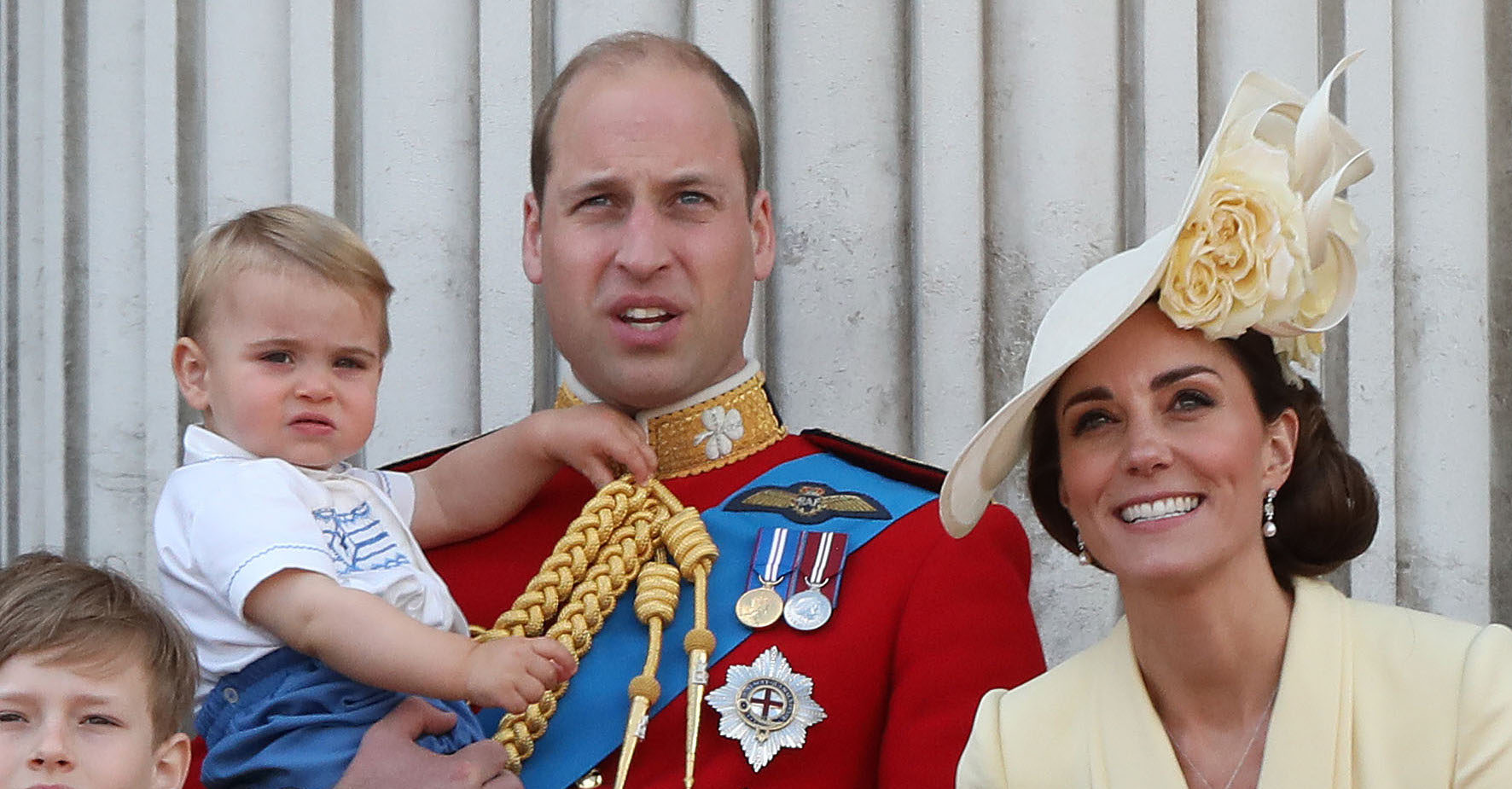 Prince Louis is the spitting image of big brother George in cheeky behind-the-scenes birthday pictures