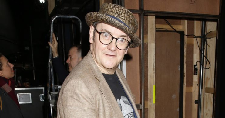 Joe Pasquale looked different on The One Show