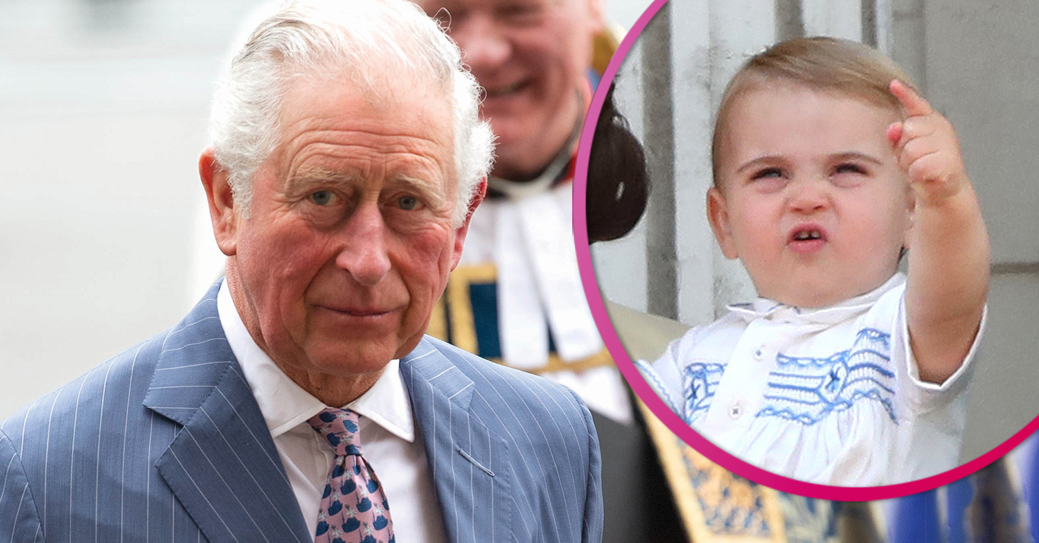 Prince Charles cuddles Prince Louis in beautiful photo to mark his second birthday