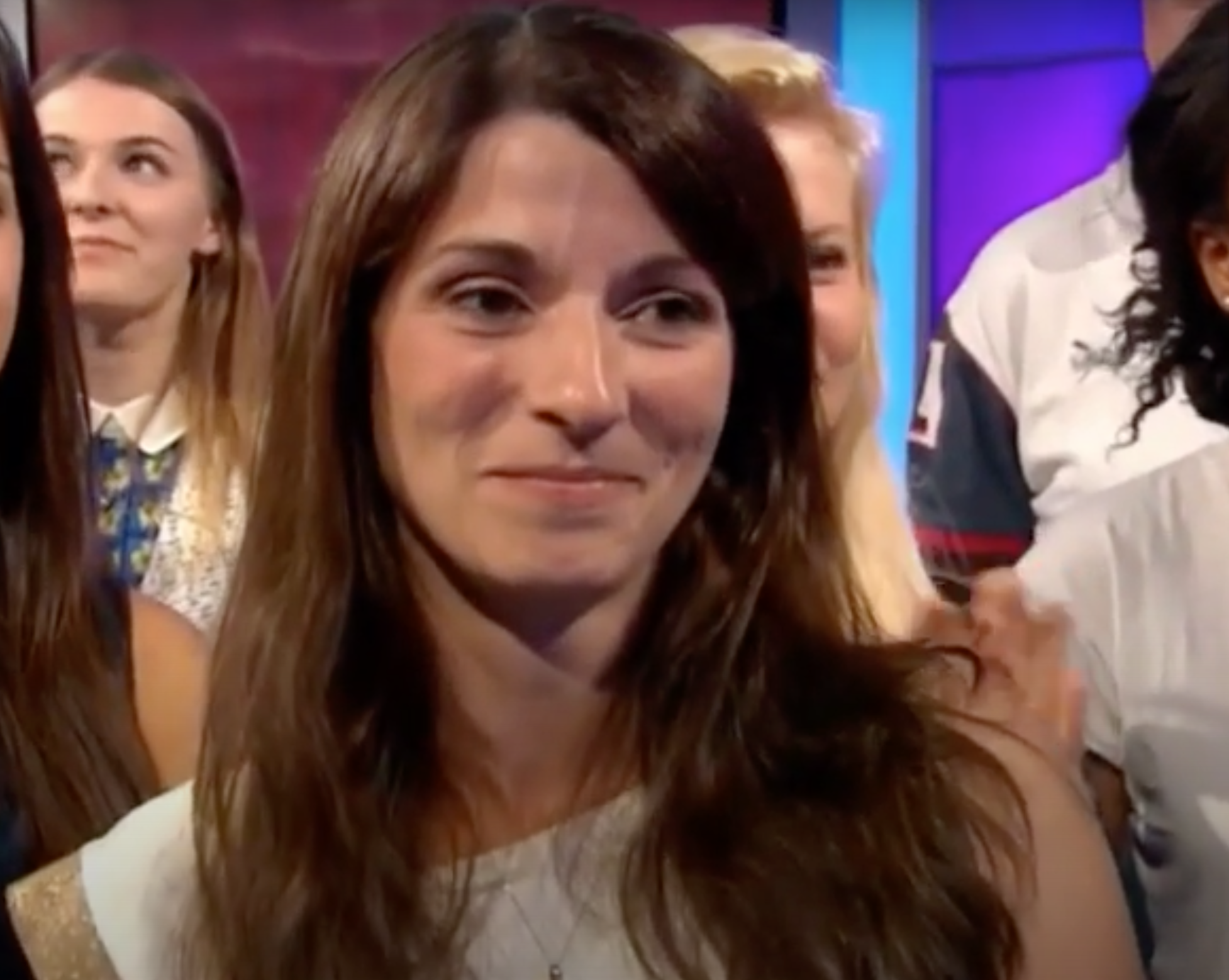 Matt Baker's wife Nicole Mooney is a physiotherapist (Credit: BBC)