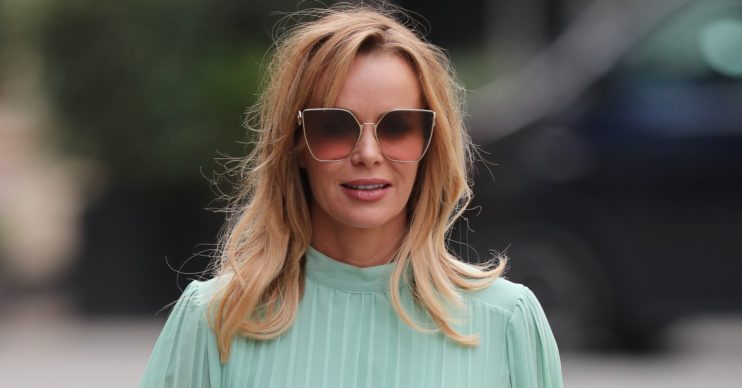 Amanda Holden hit back at trolls after sharing a video of her daughter dancing on the roof