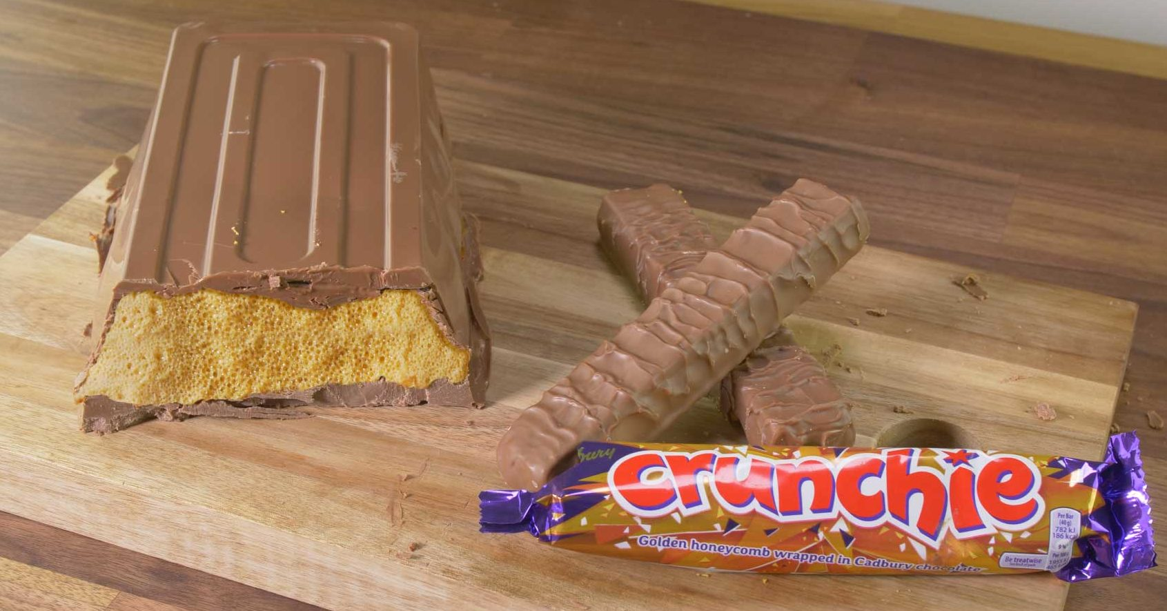 B&M unveils its Giant Crunchie Bar and it's the ultimate lockdown treat