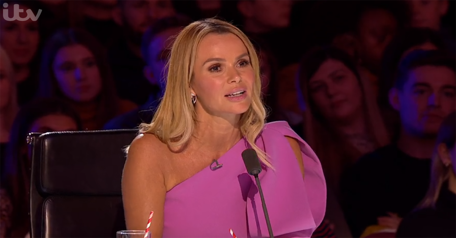 Amanda Holden reveals this weekend's BGT will see moment that's never happened before