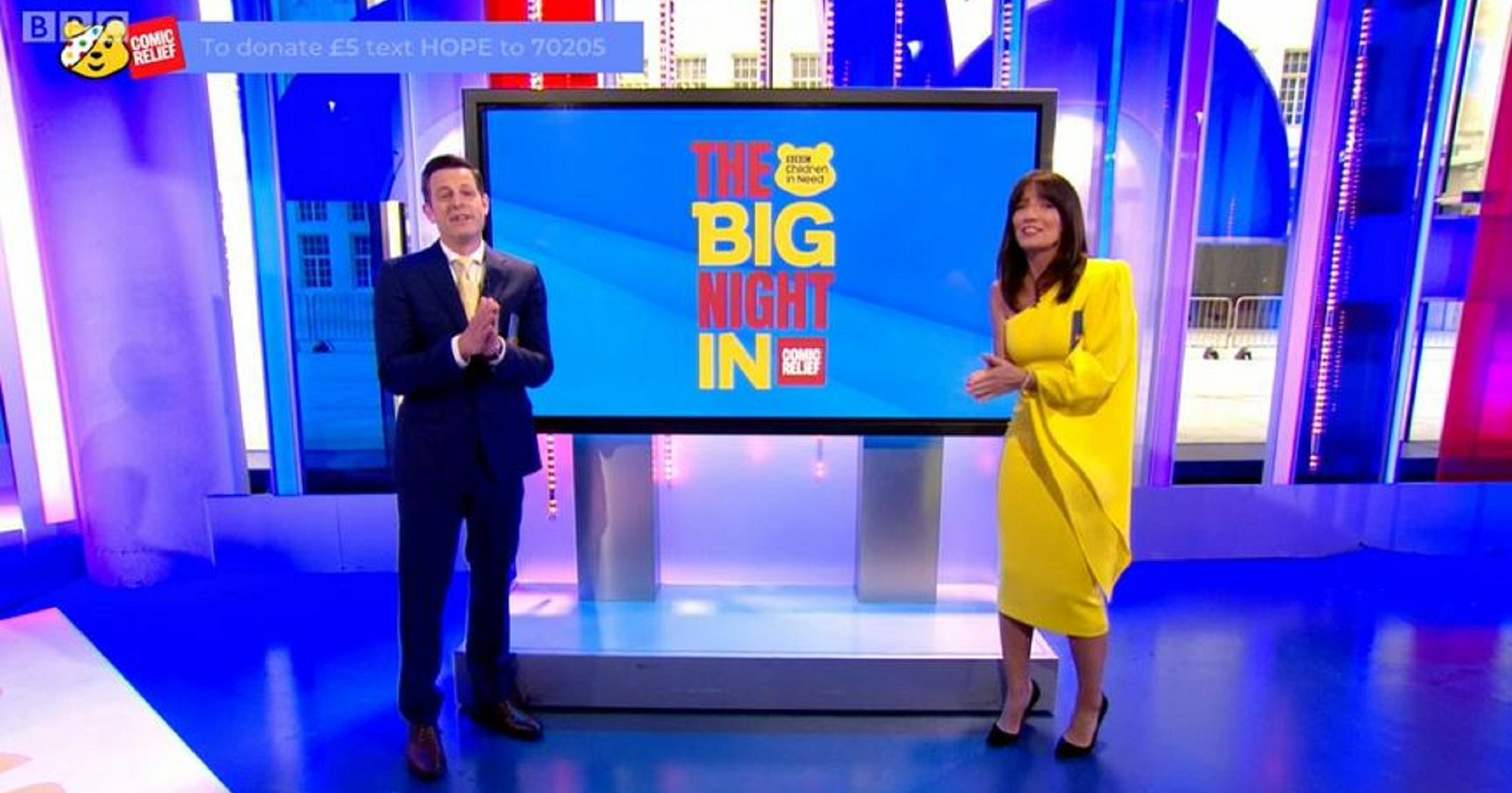 The Big Night In: Viewers accuse Matt Baker and Davina McCall of breaking social distancing rules