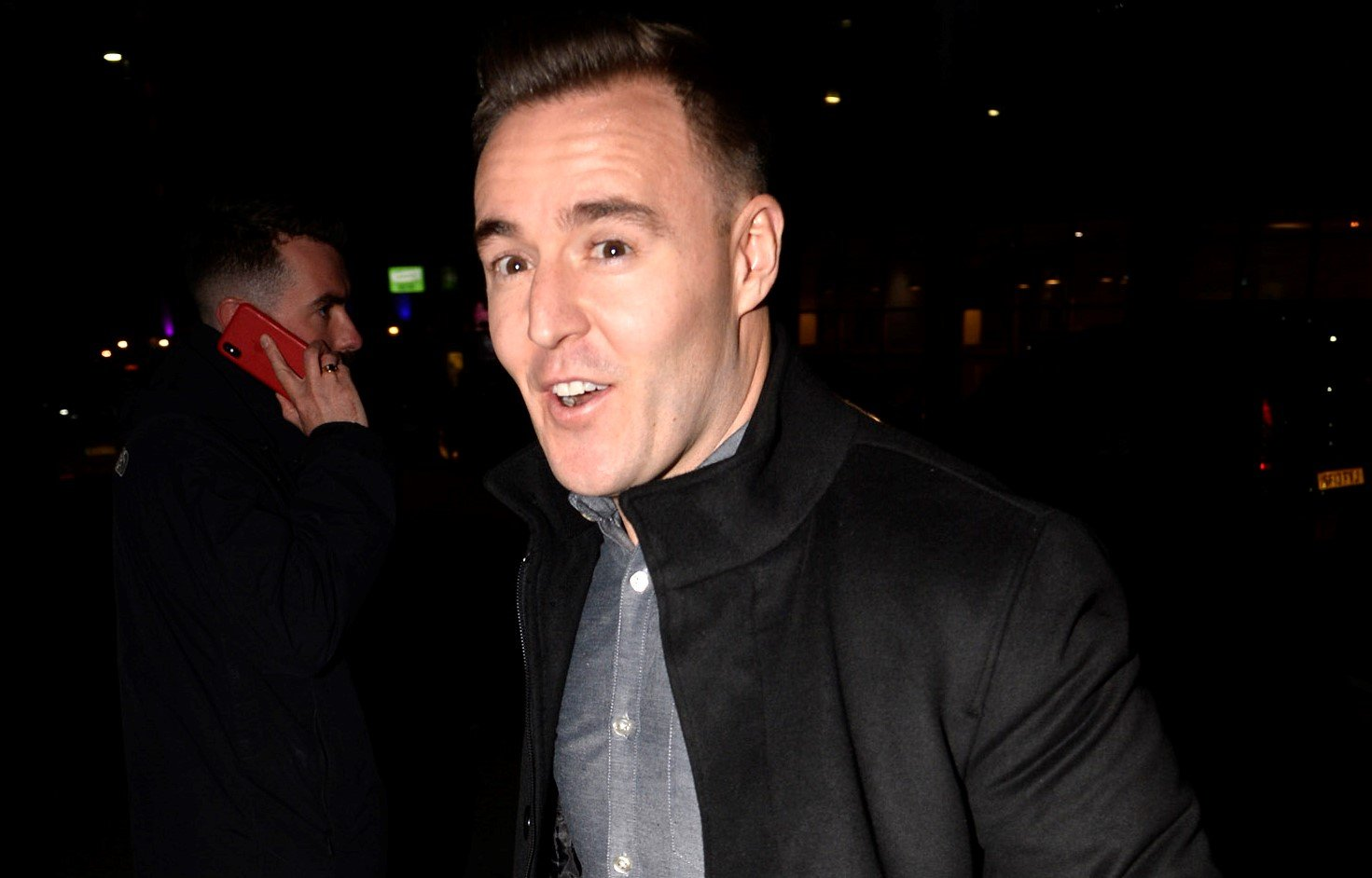 Corrie's Alan Halsall trolled by mates who say his knee 'looks like horror doll Chucky'