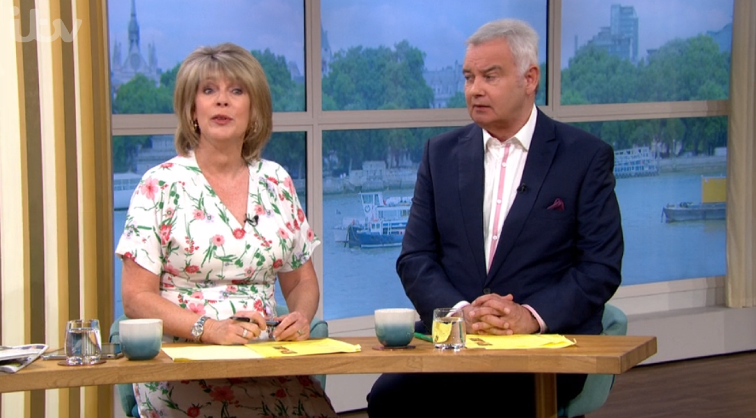 Ruth Langsford takes savage dig at life coach Nik Speakman live on This Morning