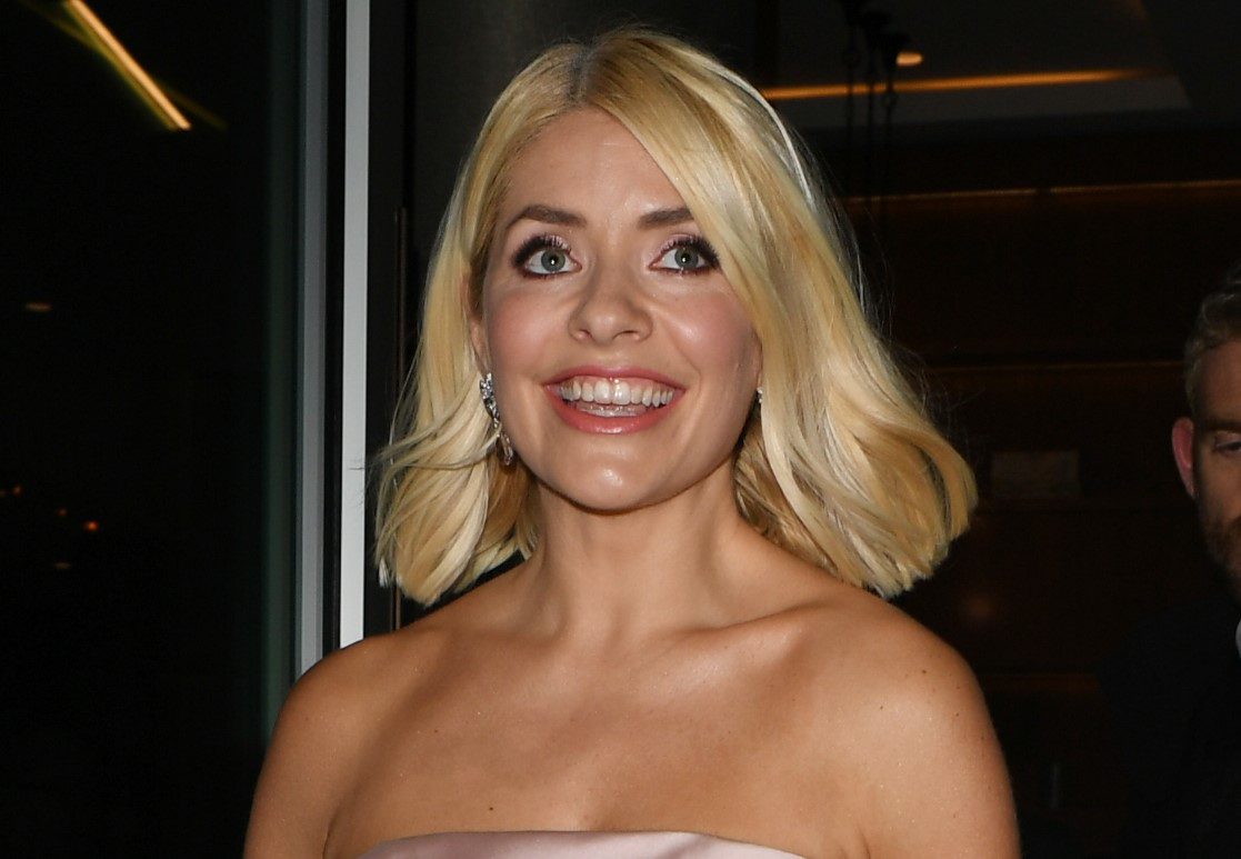 Holly Willoughby and her youngest son Chester have matching smiles in cute snap