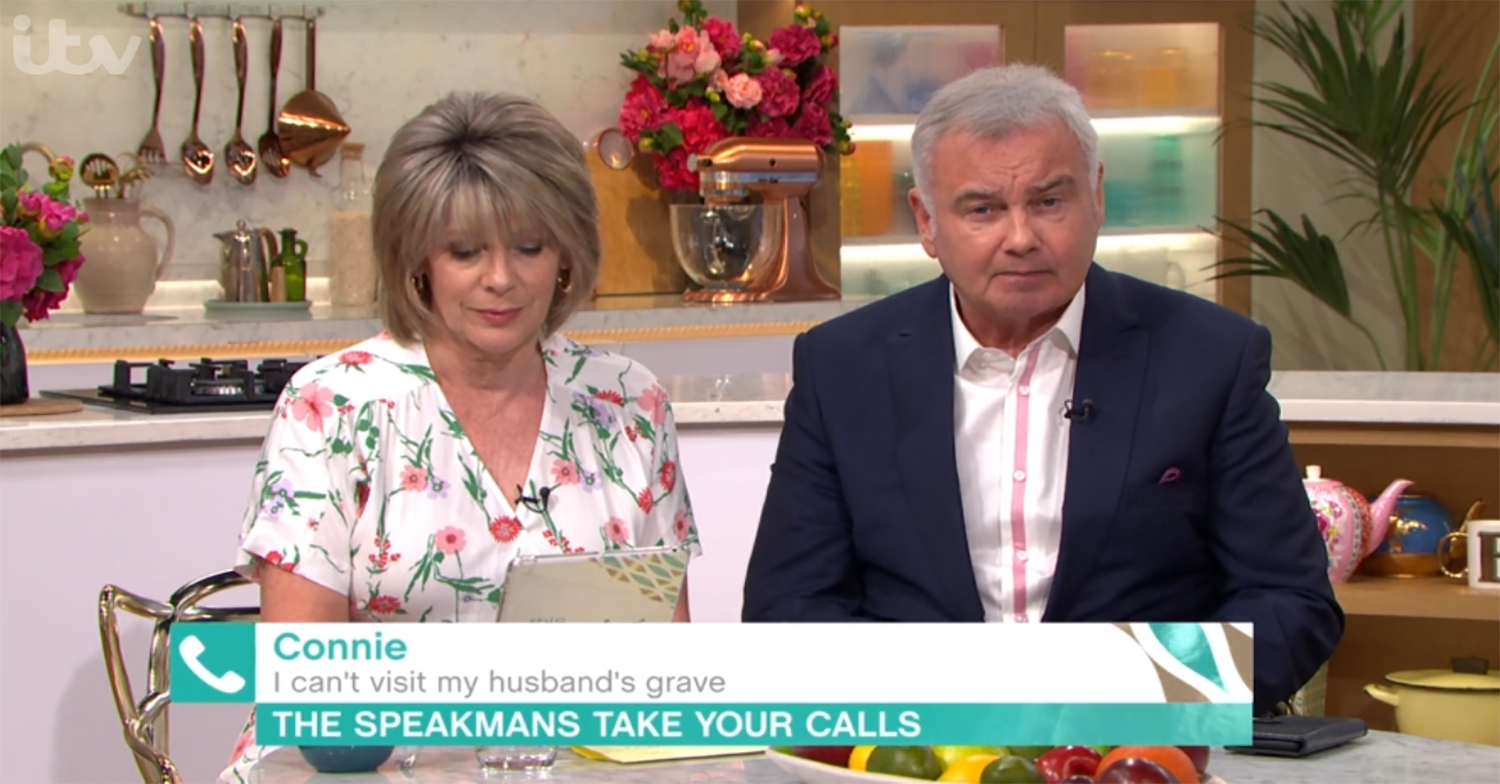 This Morning viewer breaks down as she reveals she can't visit husband's grave during pandemic