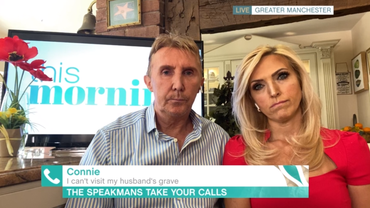 The Speakmans on This Morning
